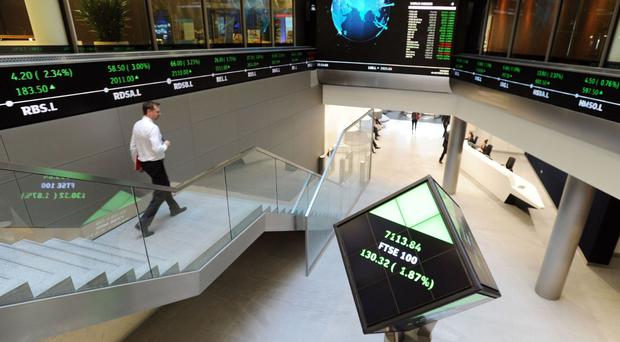 This index rose above 7122.7 to 7129.83 points in mid-session trading