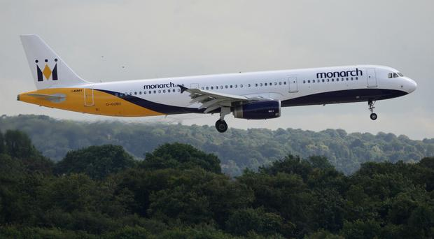 Monarch's operating licence is due to expire at midnight