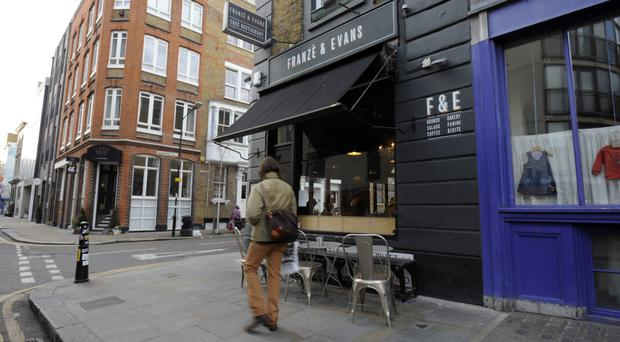 The Shoreditch area of London, where Time Out is planning a new food market