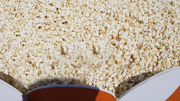 A weaker pound has driven up the price of imported popcorn ingredients