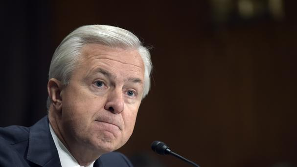 Wells Fargo CEO John Stumpf has resigned (AP)