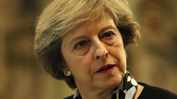 Theresa May refused to commit to giving MPs a vote on her Brexit strategy despite growing Tory calls for more clarity on the plan