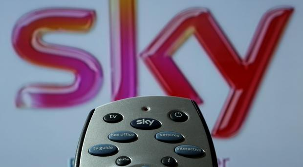 Sky's sales were up in the first quarter of the year