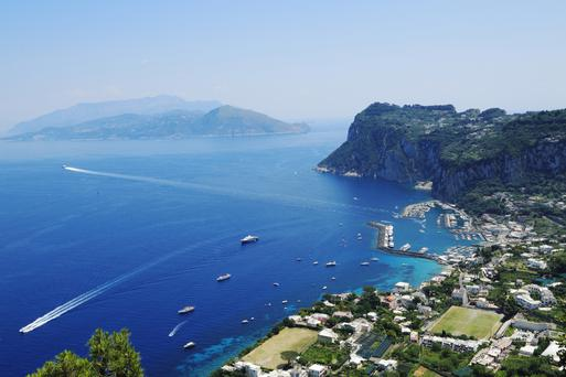 Gareth loves Italy and recently visited the island of Capri