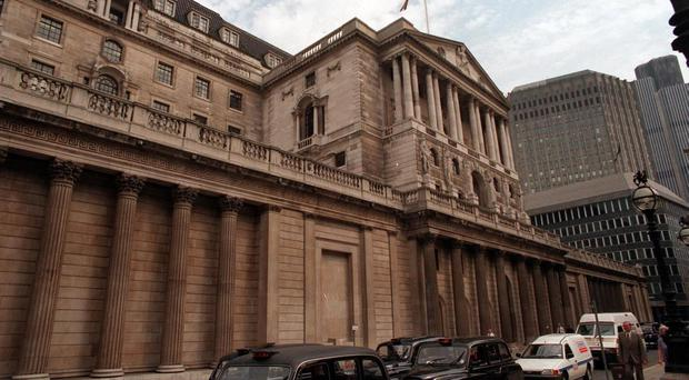 The Bank of England said it is willing to allow inflation to run