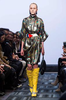 Northern Ireland designer J W Anderson has seen his clothes continue to grace catwalks despite a drop in fashion sales