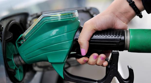 A litre of petrol hit an average of £1.15 on Sunday, AA data showed