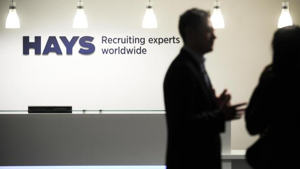 Hays revealed a sharp drop in hiring across London and the wider UK