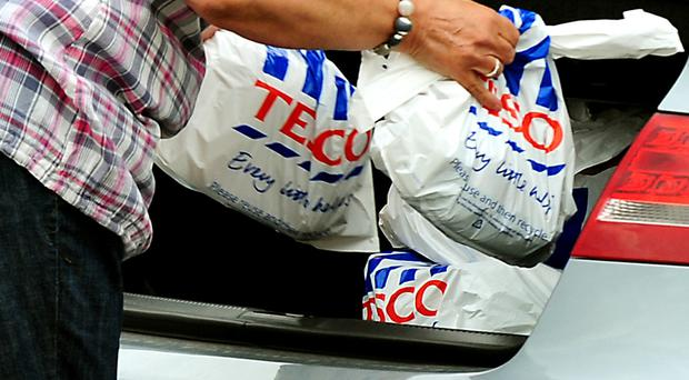Tesco expanded its share of the market to 28.2% - its first year-on-year market share gain since 2011