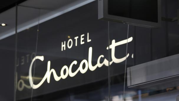 Hotel Chocolat said sales rose 12% to £91.1 million in the year to June 26