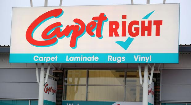 Carpetright said that stiff competition led to a 2.9% decrease in like-for-like sales in the UK