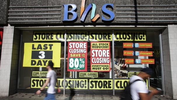 The collapse of BHS resulted in the closure of 10 stores across Intu sites