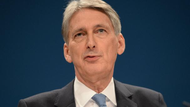 Philip Hammond has backed efforts to reduce the amount of energy used by people and businesses
