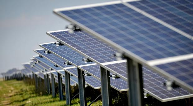 Figures showed half a million solar panels were installed every day last year across the globe