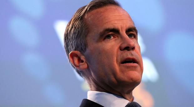 Mark Carney said the Bank's policies could not 'do it all'