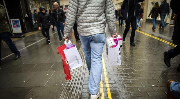 Retail jobs have fallen in the past three months as the number of stores is reduced
