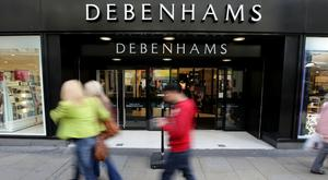Debenhams said pre-tax profit fell 10.4% to £101.7 million in the 52 weeks to August 27