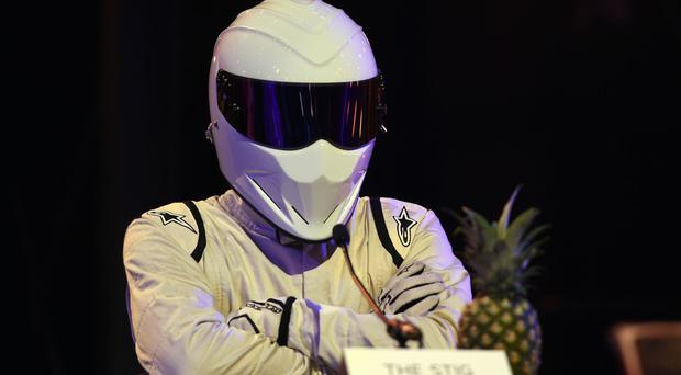 The track days included driving with The Stig