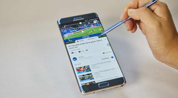 Samsung said sales dropped 7% from July to September as the firm grappled with a global recall of the Galaxy Note 7