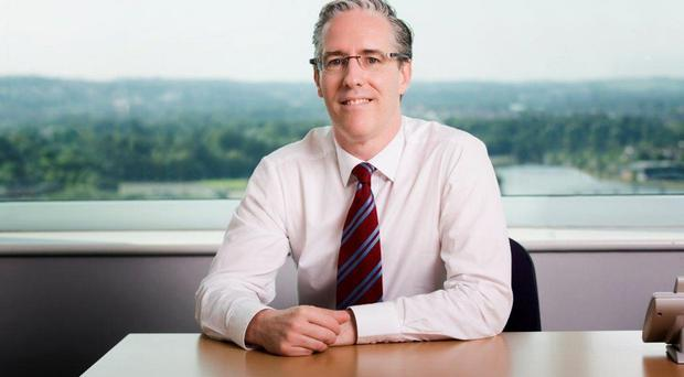 Solid results: Colm O'Neill of BT