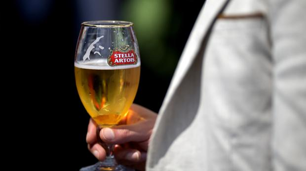 Stella Artois brewer AB InBev was hardest hit by a downturn in Brazil