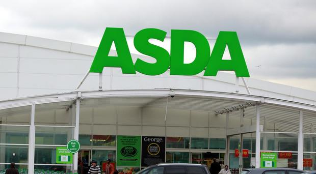 Long queues formed at Asda stores across the country due to the card machine problem