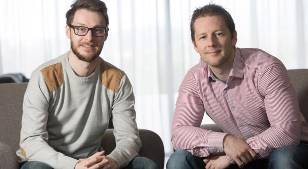 Gordon (left) and Adrian Campbell from the Design Zoo