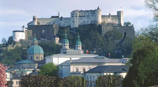 Salzburg's ski resorts are expected to be a big attraction for passengers