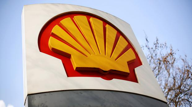 Shell said profits came in at 1.4 billion US dollars (£1.1 billion) compared with a 6.1 billion US dollar (£5 billion) loss in the same period last year