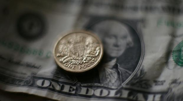 Sterling rose as high as 1.228 against the US dollar on Tuesday
