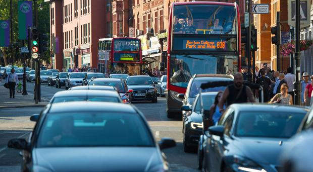 The report suggested measures aimed at phasing out diesel cars from the streets of central London