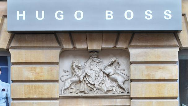 A Brexit boost from the weak pound was not enough to help arrest a sales slump at Hugo Boss in the third quarter