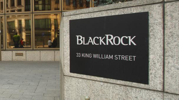 Offices of BlackRock in the City