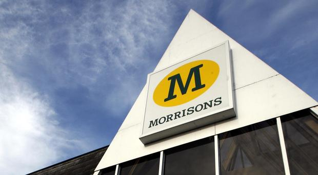 Morrisons said like-for-like sales in the third quarter rose 1.6%