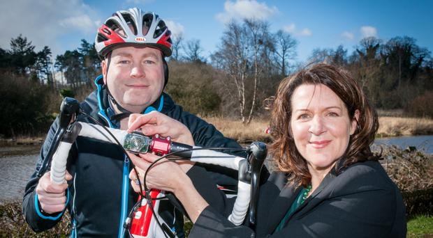 Irene McAleese and her husband Philip are taking their See.Sense technology to India