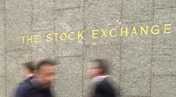 The FTSE 100 index sank deeper into the red, down 71.84 points to 6,718.88