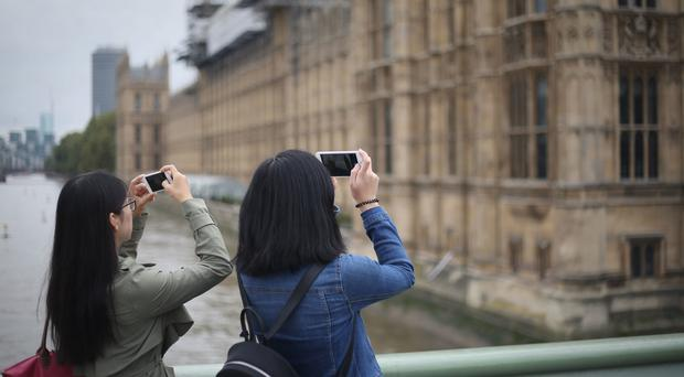 Tourists have been taking advantage of the weak pound