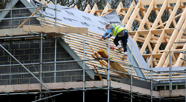 The CBI wants the Government to offer help to small and medium sized housebuilding firms
