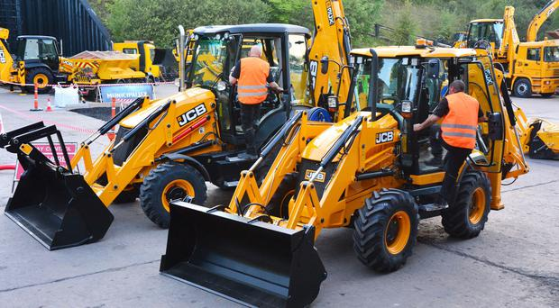 The order is a boost for JCB's factories in Staffordshire (JCB/PA)