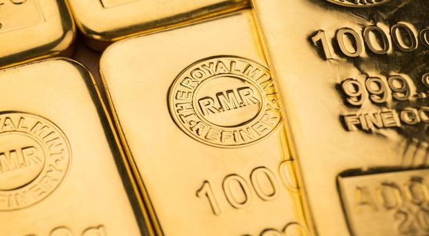 Total gold demand fell by 10% compared with a year earlier at 993 tonnes