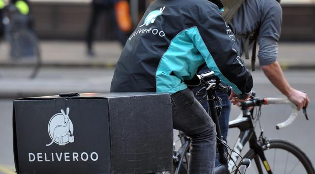 Deliveroo couriers are asking for union recognition and employment rights