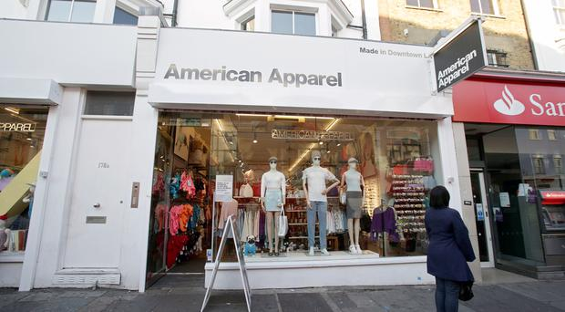 American Apparel sai its 13 UK stores are well-stocked and will continue to trade as usual in the lead-up to the peak Christmas trading period