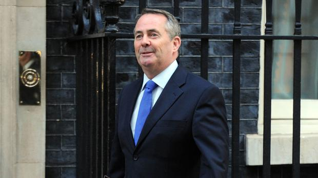 International Trade Secretary Liam Fox has visited the likes of Bahrain, Qatar and the United Arab Emirates, as well as India and the US, but not the EU