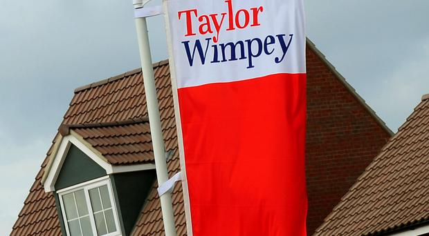 Taylor Wimpey said its total order book was ahead of last year at £2.3 billion