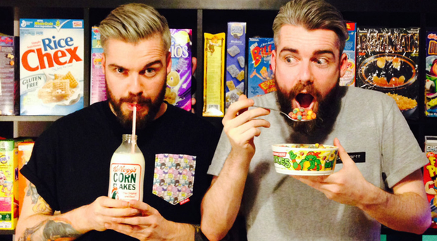 Northern Ireland brothers Alan and Gary Keery have opened their third Cereal Killer branch, in Birmingham