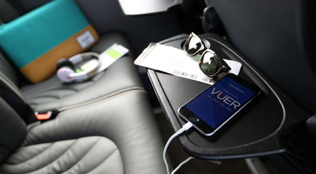 The Vuer app will allow passengers to be able to watch a range of films and TV programmes on their own electronic devices (Adam Fradgley/National Express/PA)