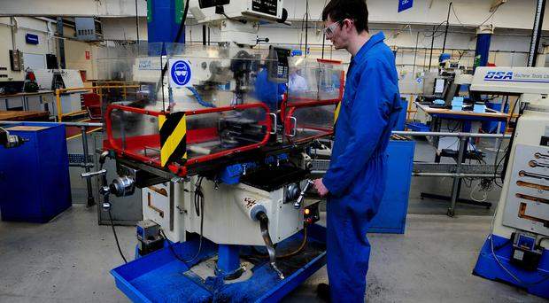The EEF said engineering graduates can now expect to be paid £28,000 a year