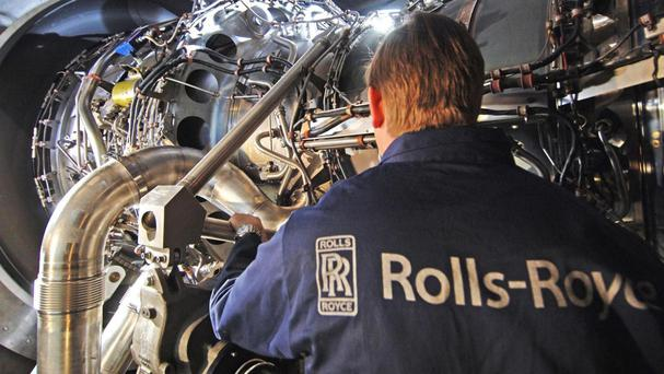 Rolls-Royce is set to deliver savings at the top end of its target to slash costs by between £150 million to £200 million
