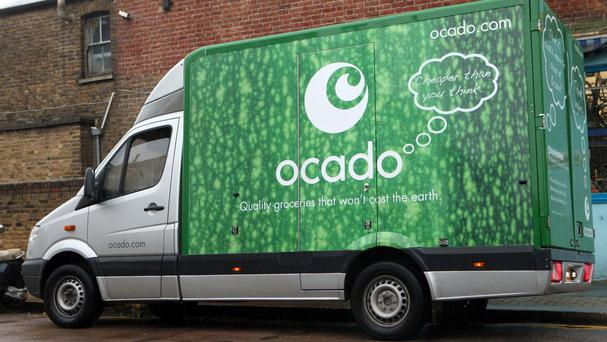 Ocado shares dived in excess of 6%