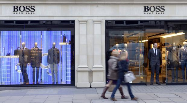 Hugo Boss expects underlying profit to slump by between 17% to 23% this year